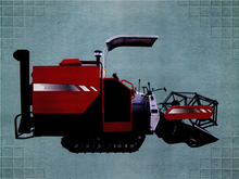 MF2168 Rapeseed/Rice/Wheat Combine Harvester
