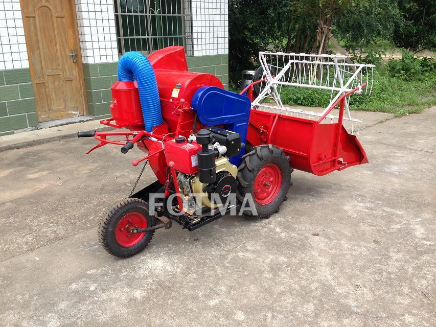 4LZ-0.6 Mini Rice & Wheat Combine Harvester