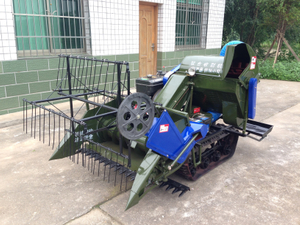 4LZ-0.8 Mini Rice & Wheat Combine Harvester