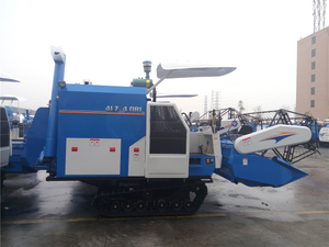4LZL-4.0Z Rice & Wheat Combine Harvester